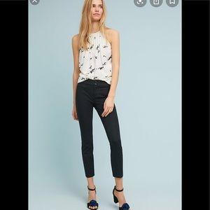 NWT Anthropologie essential slim trouser 8